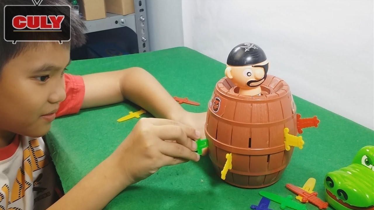 Đồ chơi thử thách đâm hải tặc vui nhộn Lucky Stab trò chơi hay – toy for kids