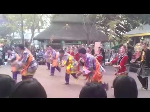 you see tour tour Thai -58 : Traditional Malay music in Thai Classical Dance Show in the public park