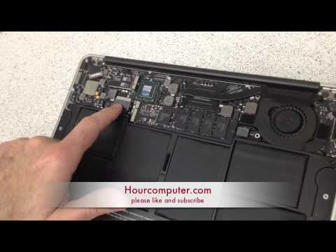 How to remove a macbook air hard drive