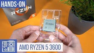 AMD Ryzen 5 3600 Unboxing - die neue AMD 7nm-CPU ist da!