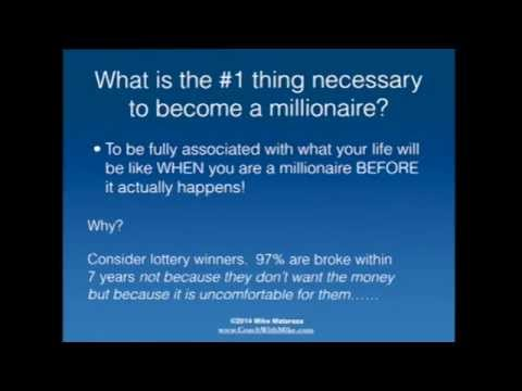 Use this visualization exercise to become a millionaire!