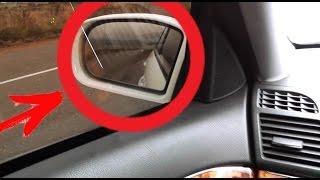 Як налаштувати опускання бічних дзеркал при паркуванні на Mercedes W211 / Функція комфортні дзеркала