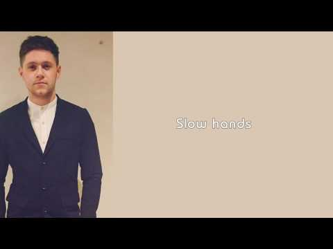 Niall Horan - Slow hands (lyrics)