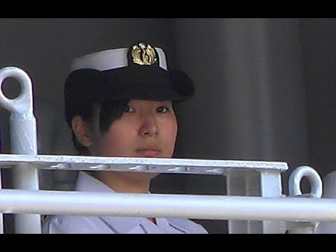 【ヘリ空母型】護衛艦「ひゅうが(日向)」門司港入港 ' DDH-181 '
