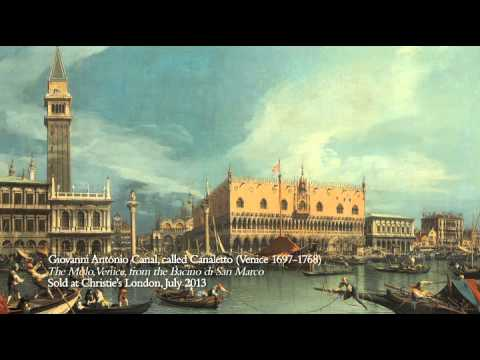Video: Francesco Guardi's Venice, the Bacino di San Marco with the Piazzetta and the Doge's Palace
