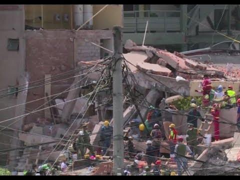 أخبار عالمية | #زلزال_المكسيك .. فرق الإنقاذ يواصلون البحث عن ناجين  - نشر قبل 3 ساعة