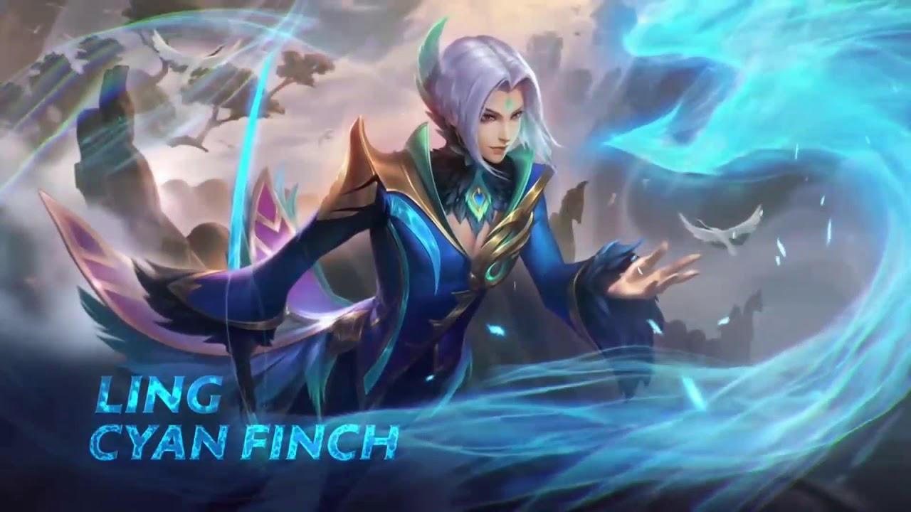 Ling Cyan Finch Mobile Legends Moving Wallpaper Mobile Legends Live Wallpaper Youtube