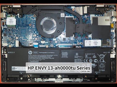 HP ENVY 13-ah0013tu 拆機 (2018.06 機型)
