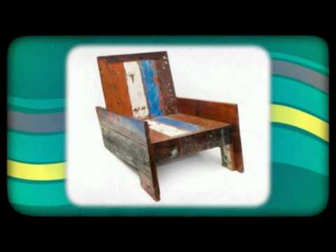 Ecologica Furniture - Reclaimed Wood Seating Chairs Bar Stools ...
