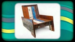 Ecologica Furniture - Reclaimed Wood Seating Chairs Bar Stools Benches