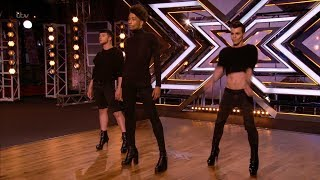 The X Factor UK 2017 The Clique Audition Full Clip S14E06