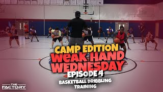 How To Improve Your Weak Hand Dribbling -Pound Series - Weak Hand Wednesday Ep. 4