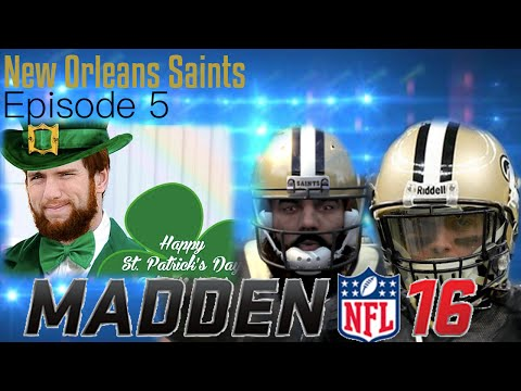Lucky or Unlucky?! Levy and Laurinaitus partnership! Ultimate Hew Orleans Saints Connected Franchise