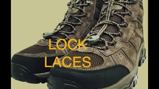 Lock Laces- The Shoelace Substitute
