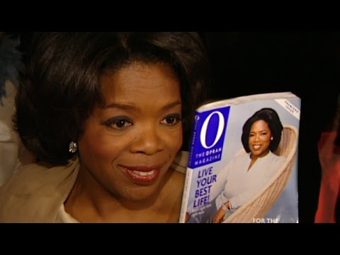 FLASHBACK: Oprah Winfrey Launches 'O Magazine' in 2000 With Star-Studded Affair
