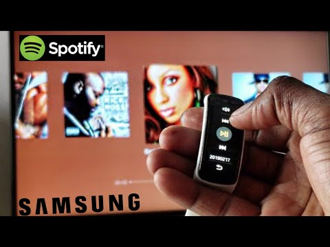 How To Control Spotify Playlist & Samsung Smart TV With A Gear Fit? | Juice84 Mp3