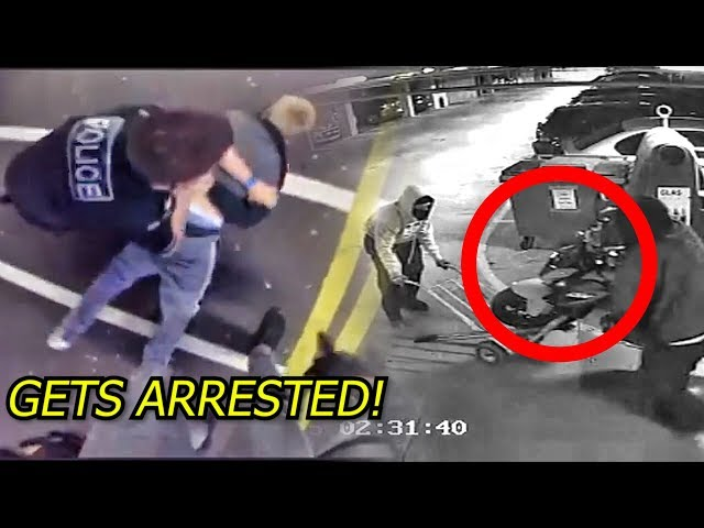 Motorcycle Thiefs Get Caught! FULL VIDEO & STORY