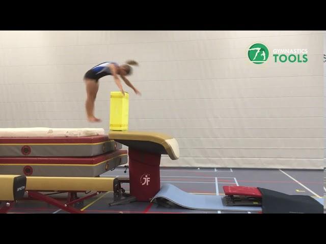 Tsukahara Drills & Exercises Vault Gymnastics