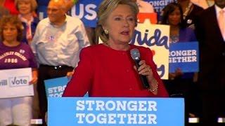 Clinton: Trump is Attacking Democracy Itself