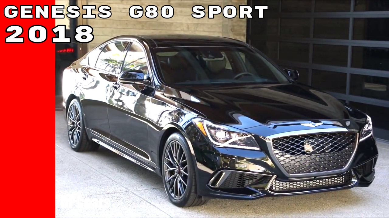 2018 genesis g80 sport exterior engine interior drive youtube. Black Bedroom Furniture Sets. Home Design Ideas