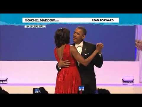 Barack and Michelle Obama Dance at 2013 Inauguration Ball to 'Let's Stay Together' Jennifer Hudson