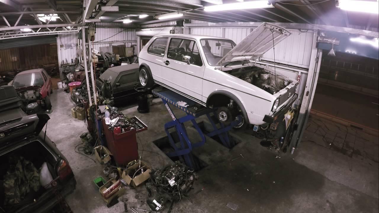 Vw Golf Mk1 Rebuilding 1 8t Engine Swap