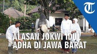 Alasan Jokowi, Tiga Tahun Rayakan Idul Adha di Jawa Barat