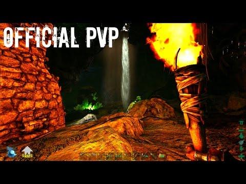 UPPER SOUTH CAVE SOLO - Official PVP (E34) - ARK Survival