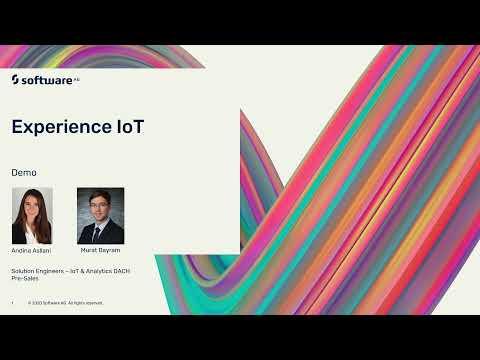Experience IoT Demo for Cumulocity and webMethods.io