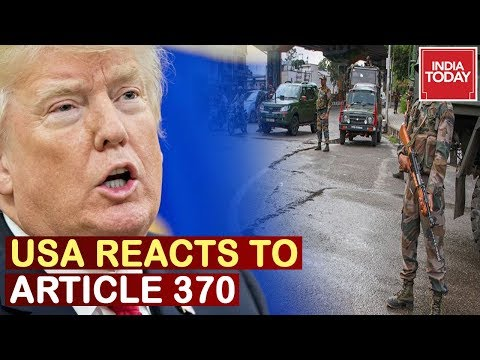 U.S Releases Statement After India Scraps Article 370, Urges Respect With Affected People