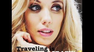omg perverted flight attendant | Laura Clery