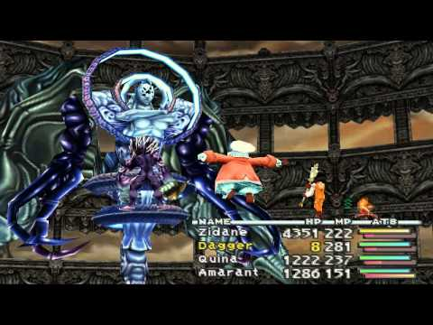 Final Fantasy 9 FINAL BOSSES: Trance Kuja and Necron
