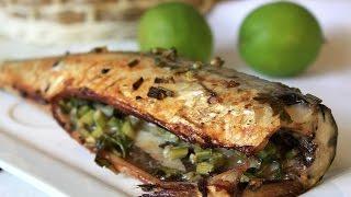 Домашние видео-рецепты - запеченная рыба в мультиварке