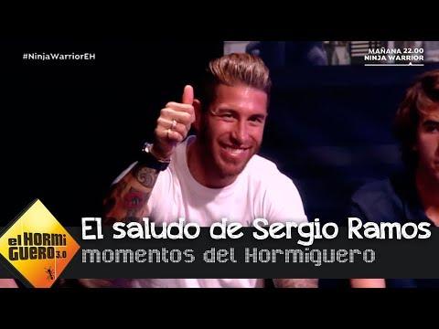 Sergio Ramos, el gran apoyo de Pilar Rubio para sus retos - El Hormiguero 3.0