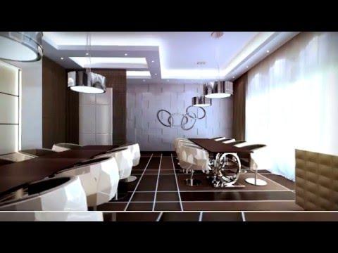 Interior Design Presentation - Modern Dining Room Design - By Aristo Castle