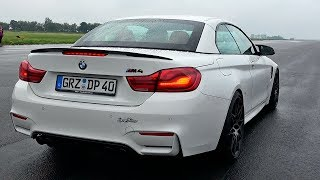 NEW BMW M4 Convertible Acceleration Sounds