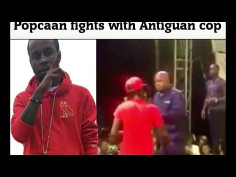 Popcaan was release out of Jail and send message to Antiguan Police
