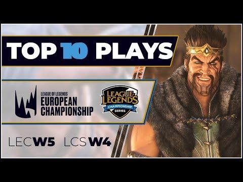 Top 10 Plays: LEC & LCS | Episode 5 - Spring Split 2019