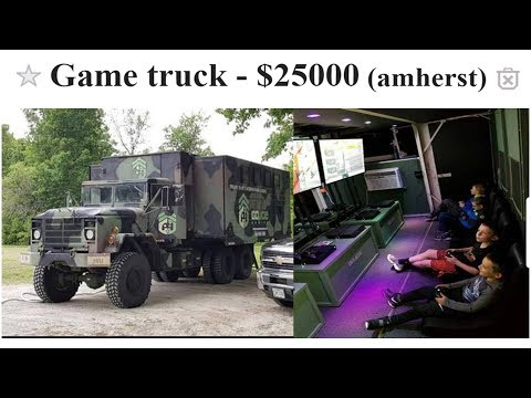 $25000 GAMING TRUCK!!?? Newb Plebs Sell Ep.8