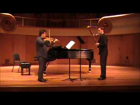 Duet violin and bassoon - I. Pleyel