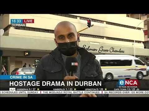 Crime in SA | Hostage drama in Durban - eNCA