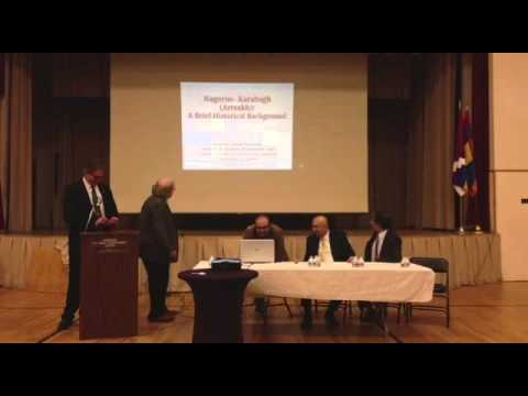 Panel Discussion about Nagorno Karabakh Conflict