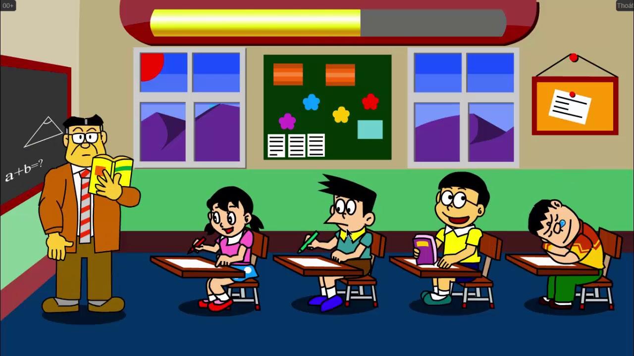 Doraemon Và Nobita Trả Thù   Mèo Máy Doremon, Nobita Chọc Phá