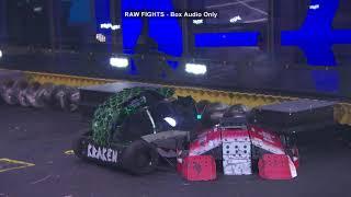 BattleBots Basement Tapes: LUCKY vs. KRAKEN