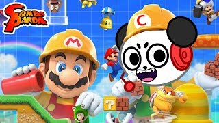 Super Mario Maker 2 - EXTREME MARIO MAKER LEVELS ! Let's Play with Combo Panda