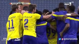 هدف النصر الأول ضد القادسية  (فيكتور أيالا) في الجولة 3 من دوري جميل