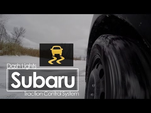 Subaru Traction Control | Dash Lights