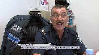 Portrait : Alain Salomé, 17 ans à assurer la sécurité des Vicinois
