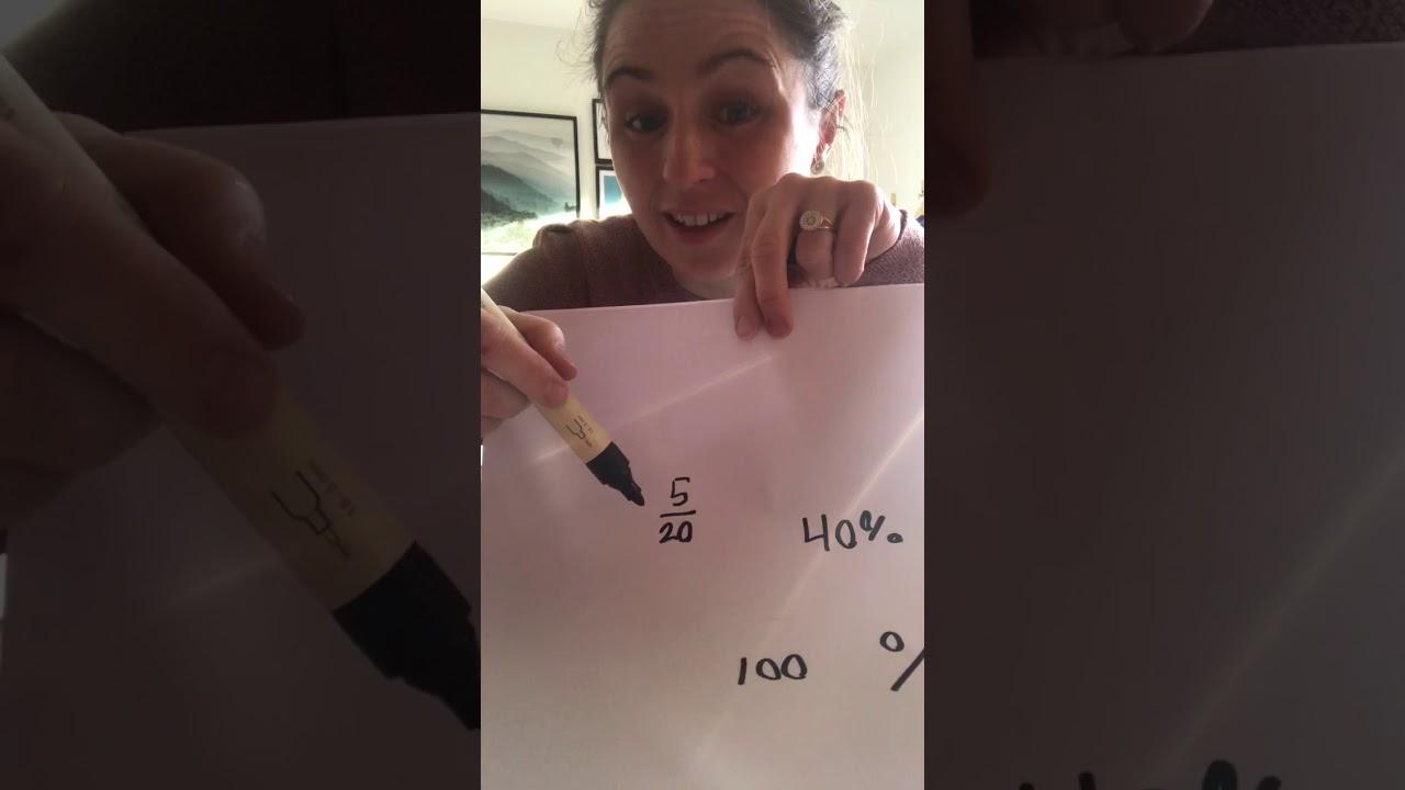 Video 3: sammenhæng ml procent, brøker og decimaltal