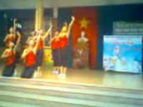 12A Hermann Gmeiner Hải Phòng Giải nhất múa bài Quê tôi 20-11